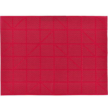 《ZONE》棋盤餐墊(紅)