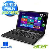 Acer E1-510 15.6吋 Intel N2920四核心 Win8.1 超值美型文書筆電(E1-510-29204G50Dnkk01)
