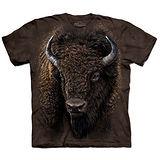 『摩達客』(預購)美國進口【The Mountain】自然純棉系列 美國野牛 T恤