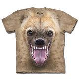 『摩達客』(預購)美國進口【The Mountain】自然純棉系列 鬣狗臉 T恤