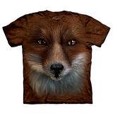 『摩達客』(預購)美國進口【The Mountain】自然純棉系列 狐狸臉 T恤