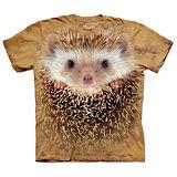 『摩達客』(預購)美國進口【The Mountain】自然純棉系列 刺蝟臉 T恤