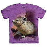 『摩達客』(預購)美國進口【The Mountain】自然純棉系列 短耳鼠兔 T恤