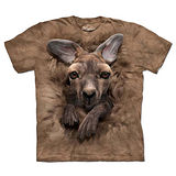『摩達客』(預購)美國進口【The Mountain】自然純棉系列 小袋鼠 T恤