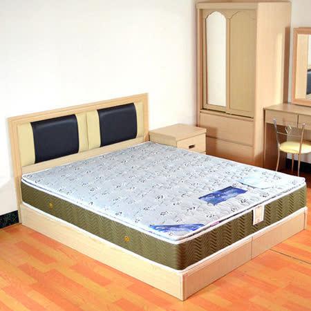 HAPPYHOME 絲黛特側邊3D透氣5尺雙人獨立筒床墊