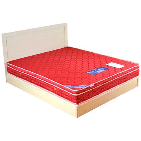 HAPPYHOME 絲黛特舒眠三線6尺加大雙人獨立筒床墊可選色