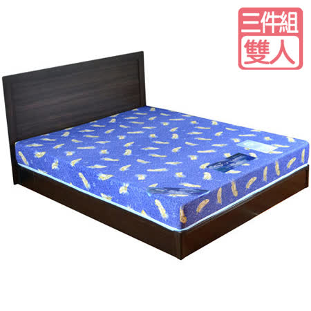 HAPPYHOME 安妮特5尺床片型3件房間組可選色U4-GA4-5(床頭片-床墊-床底)