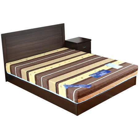 HAPPYHOME 克洛伊5尺床片型4件房間組可選色U4-GA4-18(床頭片-床頭櫃-床墊-床底)