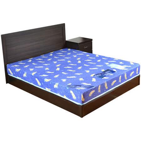 HAPPYHOME 安妮特5尺床片型4件房間組可選色U4-GA4-20(床頭片-床頭櫃-床墊-床底)