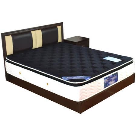 HAPPYHOME 喬安娜5尺床片型4件房間組可選色U4-GA4-23(床頭片-床頭櫃-床墊-床底)
