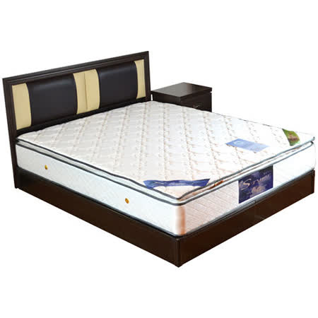 HAPPYHOME 尤妮絲5尺床片型4件房間組可選色U4-GA4-22(床頭片-床頭櫃-床墊-床底)