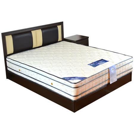 HAPPYHOME 約瑟芬5尺床片型4件房間組可選色U4-GA4-24(床頭片-床頭櫃-床墊-床底)