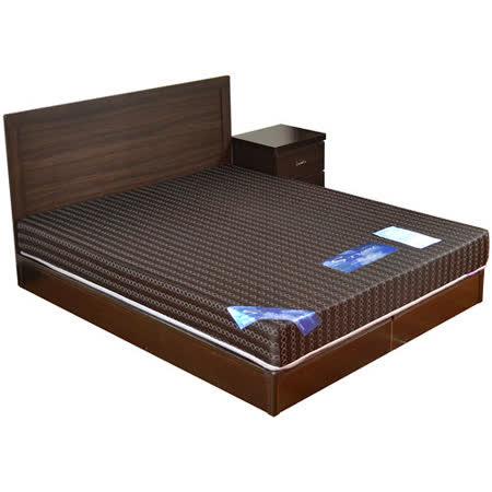 HAPPYHOME 費歐娜5尺床片型4件房間組可選色U4-GA4-28(床頭片-床頭櫃-床墊-床底)