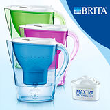 【限量福利品】德國BRITA 馬利拉Marella彩水壺(內含一入濾芯)