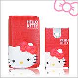 Hello Kitty 皮革壓紋限定款7800mAh行動電源 (KT-PBL7800R)-豔麗紅