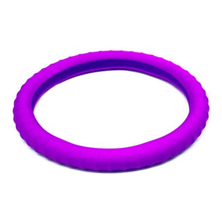 3D 矽膠方向盤套 - 紫