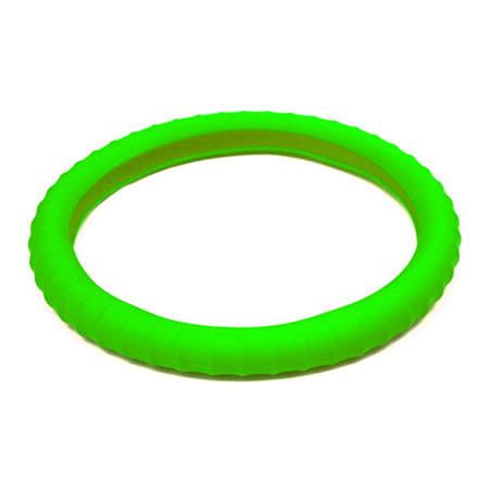 3D 矽膠方向盤套 - 綠