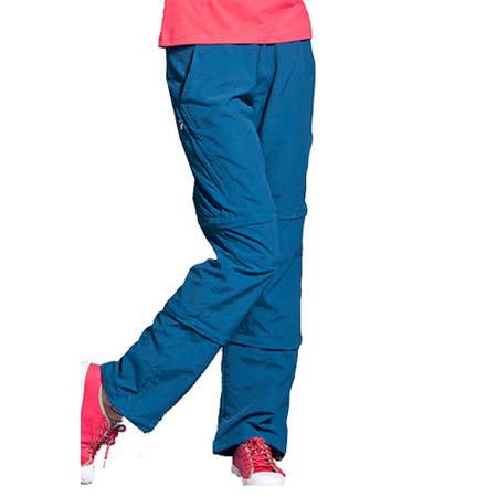 PUSH!機能面料褲 速乾透氣抗UV UPF30+ 可拆兩截褲三截褲長褲短褲五分褲七分褲女款