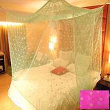 SHINEE 100%台灣製 高密度單人3.5尺內格蚊帳- 亮粉色圓點(買就送棉質綁繩x4)