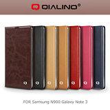 QIALINO 洽利 SAMSUNG NOTE 3 N900 經典系列背蓋皮套