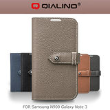QIALINO 洽利 SAMSUNG NOTE 3 N900 荔枝紋系列皮套