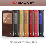 QIALINO 洽利 SAMSUNG NOTE 3 N900 智能系列背蓋皮套