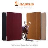 BASEUS 倍思 Samsung Galaxy Tab Pro 8.4 T320 雅格簡約磨砂皮紋皮套