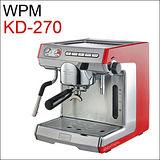 惠家 WPM KD-270 義式半自動咖啡機-紅色 220V (HG0961R)