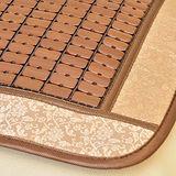 《格蘭傢飾》金玫瑰碳化竹麻將墊(43x43CM)-4入