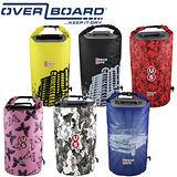 英國OverBoard防水運動筒型背包(城市美學花色系列)20L