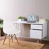 《C&B》歐伊姆北歐風格四尺書桌椅組