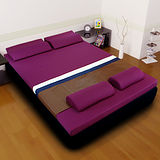 [黎安思-Zean`s] 頂級竹炭感溫釋壓記憶床墊(雙人8cm)迷戀紫