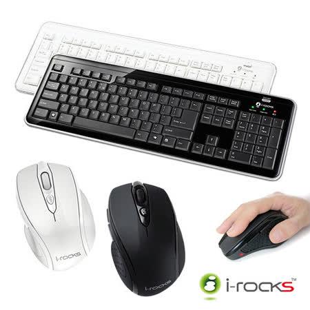 i-rocks  RF6170S 2.4GHz無線電腦鍵盤滑鼠組-復刻版