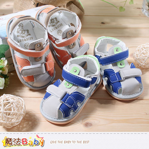 車 魔法Baby~男寶寶涼鞋~ 專櫃正品寶寶外出鞋~sh3881