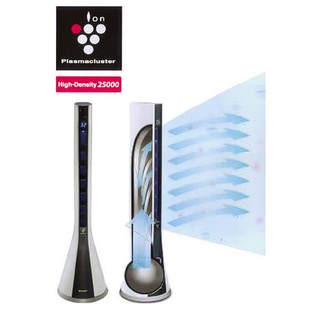 SHARP 夏普 PF-ETC1T 自動除菌離子 美肌清淨扇風機   【陳列福利品】