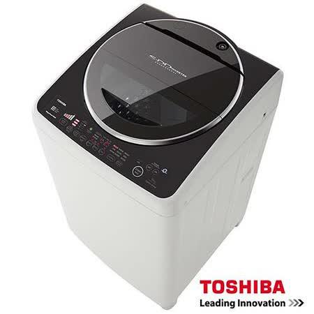 TOSHIBA東芝SDD 變頻16公斤洗衣機 魅力黑 AW-DC16WAG