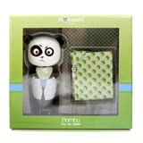 Kokeshi Bambu 友誼娃娃男性淡香水禮盒(熊貓限量版) 50ml+領巾