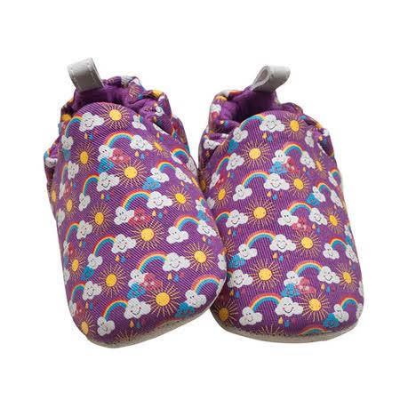 英國POCONIDO手工嬰兒鞋_微笑彩虹