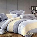 【BEDDING】田園風光 100%精梳棉雙人涼被床包組