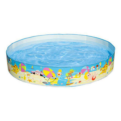 INTEX 沙灘遊戲硬膠泳池^(免充氣^)^(152cm^~25cm^)