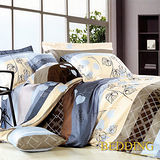 【BEDDING】時語綺夢 100%精梳棉雙人涼被床包組