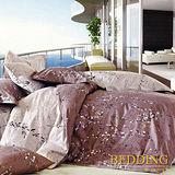 【BEDDING】迷戀 100%精梳棉雙人涼被床包組