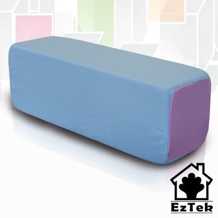 [輕鬆睡-EzTek] Toast瘋時尚低反發吐司枕-水藍色