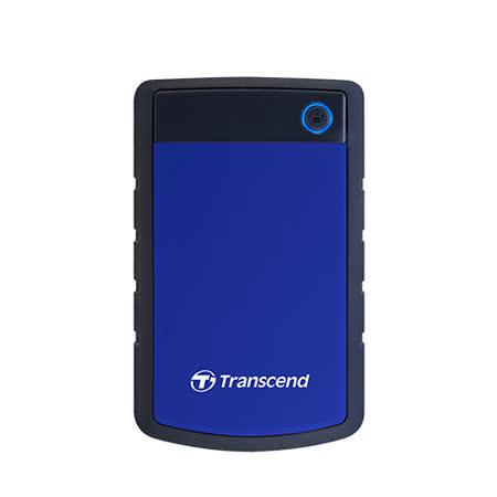 Transcend 創見 SJ25H3B 2TB USB3.0 2.5吋 軍規級抗震行動硬碟