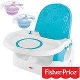 【費雪牌 Fisher-Price】多功能寶寶小餐椅+酷咕鴨KU.KU. 寶寶止翻吸盤碗