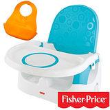 【費雪牌 Fisher-Price】多功能寶寶小餐椅+湯美天地Tommee Tippee 軟式防水圍兜