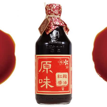 正宗豆油伯紅麴醬油500ml(六堆釀出品)