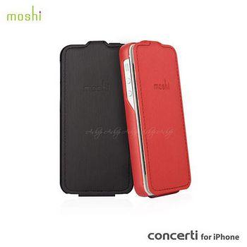 moshi Concerti iPhone 5/5S 超薄經典上掀皮套 99MO051322 莓果紅