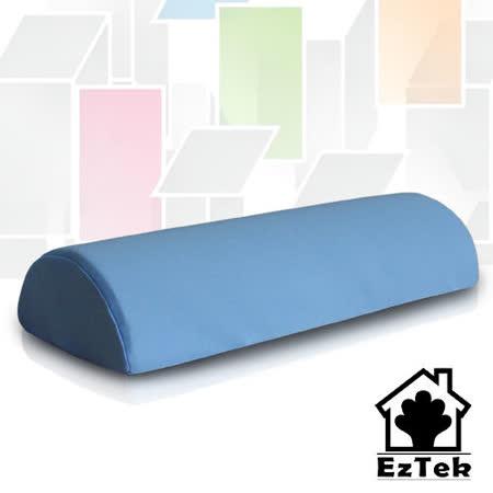 [輕鬆睡-EzTek] 竹炭釋壓記憶足枕-水藍色