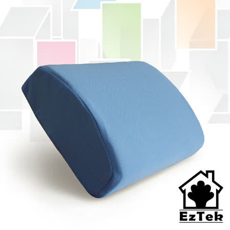 [輕鬆睡-EzTek] 釋壓記憶午安枕-水藍色